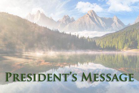 NTA President's Message